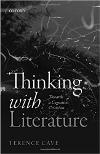 Cover of Thinking with Literature:  Towards a Cognitive Criticism
