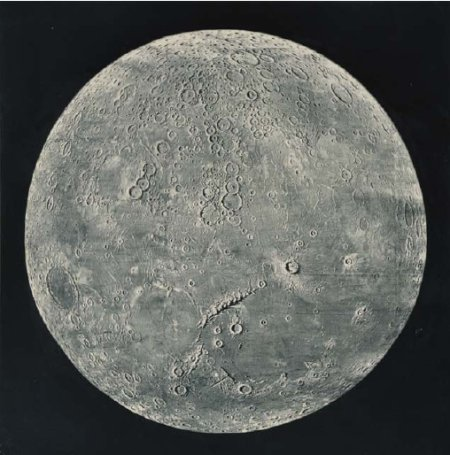 Woodbury-type photograph by James Nasmyth from The Moon Considered as a Planet, a World, and a Satellite by James Nasmyth and James Carpenter.