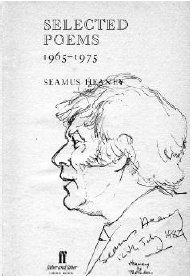 Cover Selected Poems 1965-1975 Seamus Heaney
