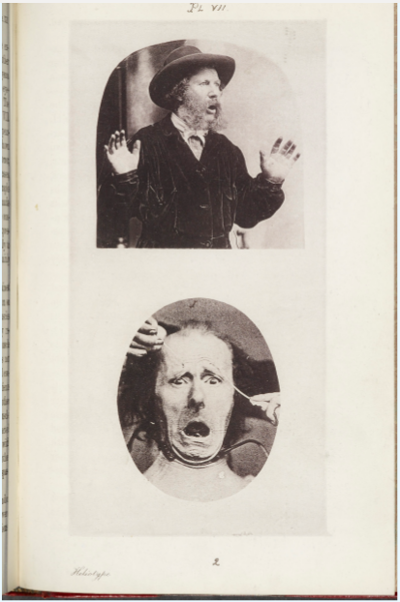 Spread from Charles Darwin Expression of the Emotions in Man and Animals (John Murray, 1872) © the University of Manchester, 2017
