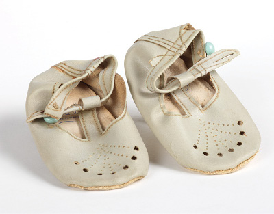 Baby shoes, c.1963, Adam Johnson Papers AJP/6/1